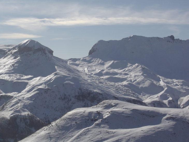 neige en montagne d'Auron