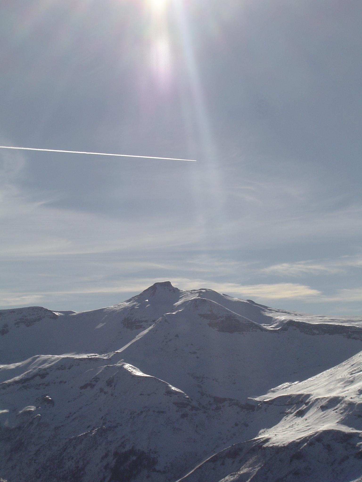 Auron et ses montagnes