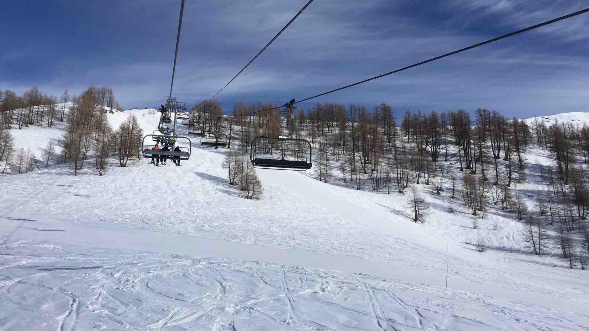Butières Auron ski