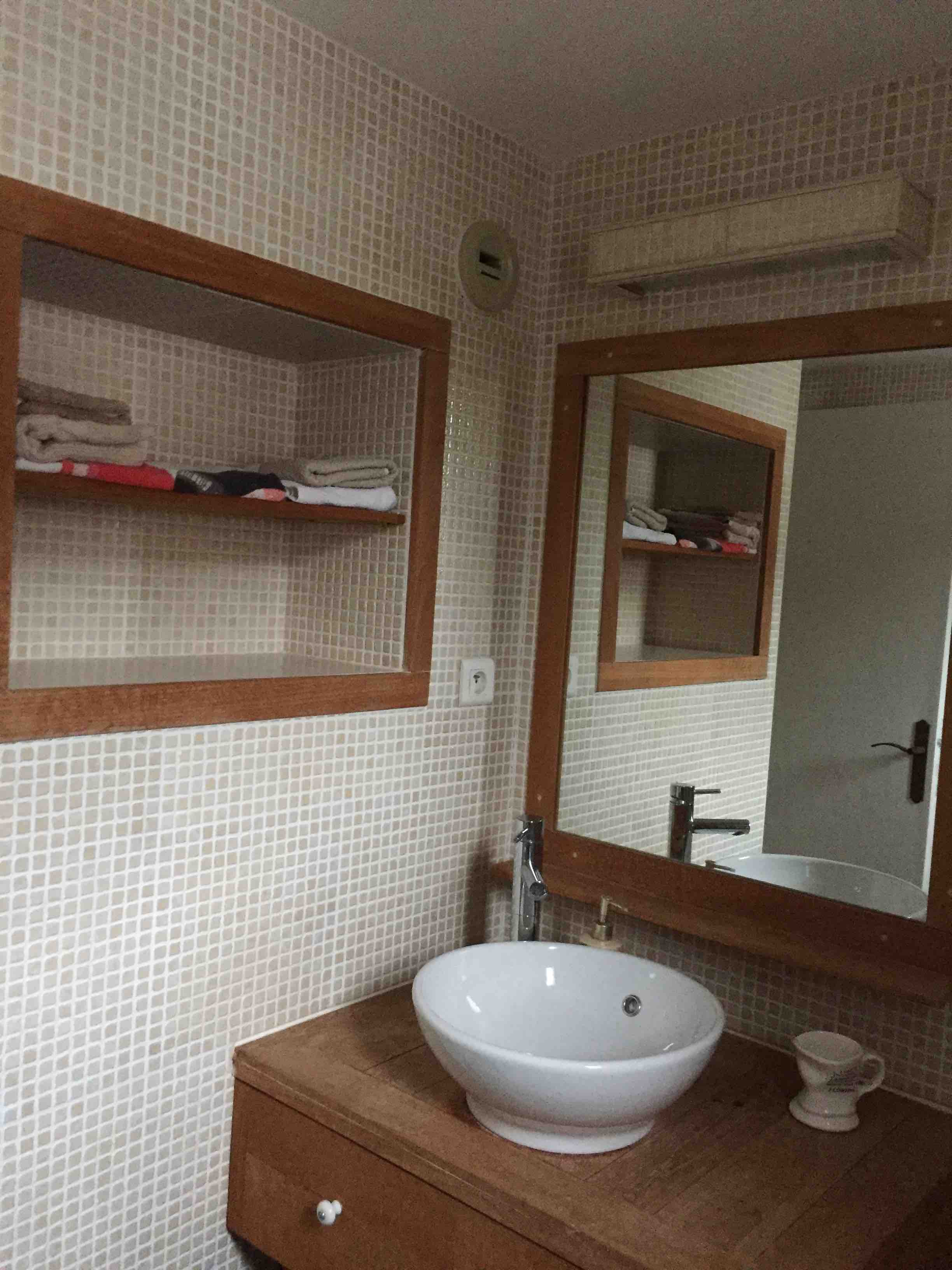 salle de bains et rangements